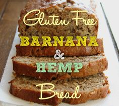 Gluten Free #Barnana & #Hemp Bread  2 Cups Oragnic SR Gluten Free Flour 3 Scoops Manitoba Harvest Hemp Foods Hemp Seeds 1/4 Stevia 1/2 Cup Almond Milk 1 Bag of #Barnana Organic Original  - Mashed 4 Tbs Chia Eggs 1 Tsp Cinnamon 1/4 Cup Organic EVO  Preheat oven to 180 degrees, line a tin with baking paper. Mix all ingredients besides the flour in a bowl until well combined, sift over flour and again mix until combined. Pour into tin and pop it in the oven for 50mins or until cooked through.