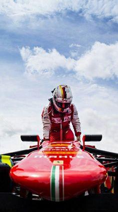 #5 Sebastian Vettel...Scuderia Ferrari...2015