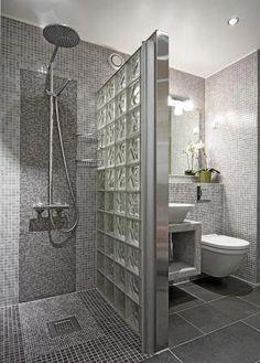 Baños Bathroom Design Luxury, Bathroom Layout, Modern Bathroom Design, Bathroom Designs, Toilet And Bathroom Design, Contemporary Bathrooms, Bathroom Colors, Minimalist Small Bathrooms, Diy Bathroom Remodel