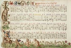 "Vincezo Capirola: (1474 – after 1548), ""Capirola Lute Book"" / Compositione di meser. Music."