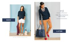 The August Perfect 10 – Tuckernuck Perfect 10, Dress Codes, Capri Pants, Khaki Pants, Outfit Ideas, Crew Neck, Navy, Sweaters, Outfits