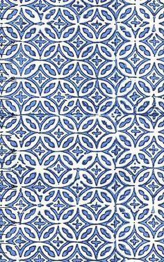 Shower tile as inspiration