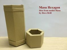 Tutorial How to make Origami Box Masu by Paper Ph2 - YouTube