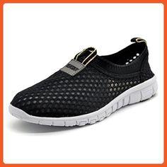 Tency Sport Women's Breathable Mesh Running Shoes EU36 Black - Athletic shoes for women (*Amazon Partner-Link)
