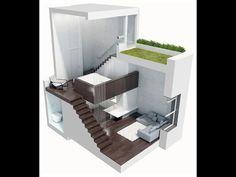Квартира-студия 24м2, в которой разместилось все! Оптимизация пространства в интерьере - комфорт - YouTube