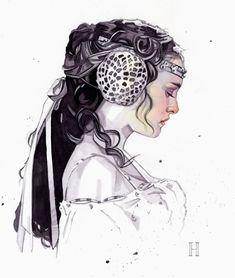 Padme Amidala. .    amazing artwork
