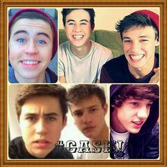 I made this one:) Hope you two like it ;) @Nash Grier  @Cameron Dallas
