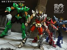 GUNDAM GUY: Gundam x Saint Seiya - Custom Builds