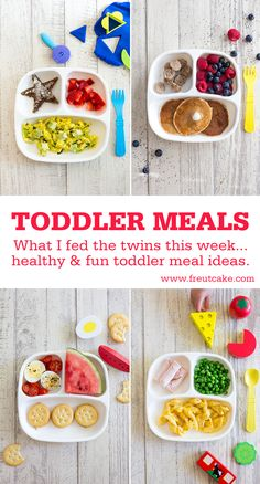 Kids Meals Healthy, fun and easy toddler meal and recipes ideas plus tips and sources. Healthy Toddler Meals, Toddler Snacks, Healthy Kids, Kids Meals, Healthy Snacks, Healthy Recipes, Toddler Dinners, Healthy Toddler Breakfast, Toddler Menu