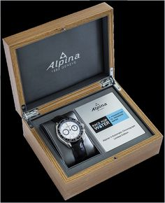"""The Alpiner 4 Chronograph """"Race for Water"""" limited edition of world-wide. Alpina contributes part of the proceeds of the sale of each watch to the Race for Water foundation for the protection of sea and drinking water. Alpina Watches, Diamond Shop, Limited Edition Watches, Water Conservation, Watches Online, Drinking Water, Fresh Water, Chronograph, Charity"""