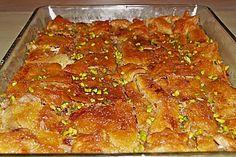Baklava, ein sehr leckeres Rezept aus der Kategorie Süßspeisen. Bewertungen: 9. Durchschnitt: Ø 3,8.