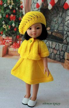 Платья для кукол Paola Reina, Minouche Sylvia Natterer и игровых кукол схожего размера модель паолочки Кэрол (старое тело), Лиу и / 600р