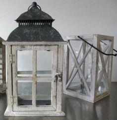 medium assorted lanterns for centerpieces