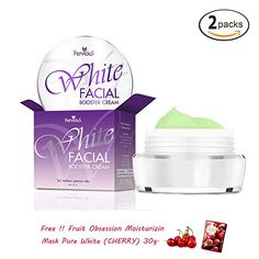 2 Units of PERVIOUS White Facial Booster Cream Get Free Tomato Facial Mask  -- Click on the image for additional details.