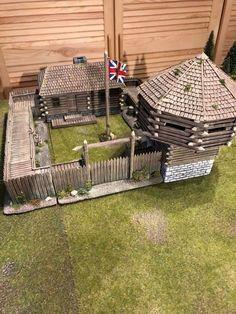 Forte Apache, Us Battleships, Bernard Cornwell, Medieval Houses, Wargaming Terrain, American Revolutionary War, Thing 1, Window Cleaner, Model Building