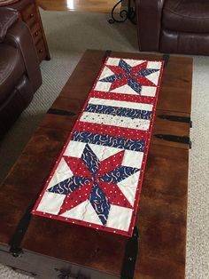 Quilted Table Runner-Americana