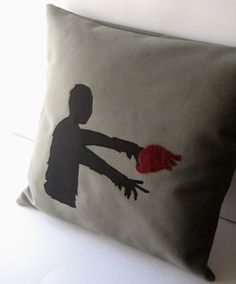 Zombie love pillow. Why do I not have one of these?
