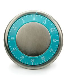 Another great find on #zulily! Turquoise Magnetic Kitchen Timer #zulilyfinds