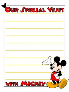 Journal Card - Our Special Visit with Mickey - lines - 3x4 photo dis_387d_Mickey_Our_Special_Visit_with_Mickey_lines.jpg