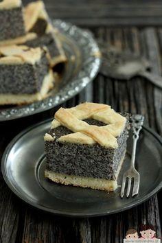 Polish Desserts, Polish Recipes, Cookie Desserts, Cookie Recipes, Dessert Recipes, German Desserts, Poppy Seed Cake, Food Humor, Homemade Cakes