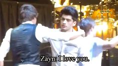 (GIF) like everyone says. Zayn certainly wears his heart on his sleeve