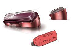 Industrial Design | Concept | Sketch -Intel Concept 3D Scan & Projection Bottle