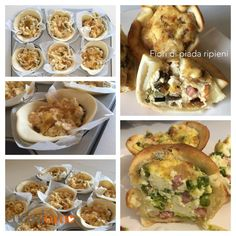 Fiori di piada ripieni via CuciniAmO fantastici come antipasto o finger food http://cuciniamo.mammeonline.net/fiori-di-piada-ripieni/