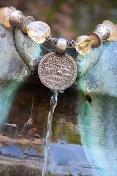 Delilah #oneofakind #handmadejewelry #india #citrine #sterlingsilver #bali #handmade #customjewelry #beauty #design #ethnic