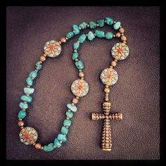 Anglican Prayer Beads Christian Prayer Beads by CopperMavenJewelry, $25.00