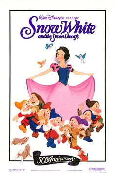 Snow White and the Seven Dwarfs Movie Poster #2 - Internet Movie Poster Awards Gallery
