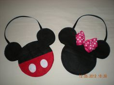 10 bags minnie mouse and mickey mouse for candy by TalyDesigns, $22.00