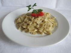 Hétfő: Káposztás kocka Ravioli, Risotto, Waffles, Oatmeal, Dishes, Breakfast, Ethnic Recipes, Food, Desk