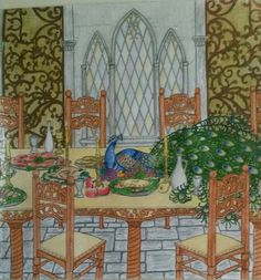 The Banquet Hall I Am Game, Colouring Pages, Banquet, Tree Branches, Art Pieces, Painting, Color, Quote Coloring Pages, Colour