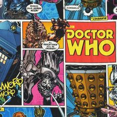 Doctor Who Comic Book - Multi