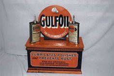 Zobacz mistrzowskie malowanie Parczewskiego w klimacie starej amerykańskiej reklamy Gulf