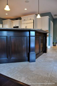 Evolution of Style: How to Stain Without Pain: The Breakfast Bar