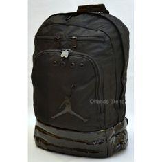 "Nike Air Jordan 15"" Black Laptop Post Backpack for $52.00 at OrlandoTrend.com  #Nike #Jordan #Black #Laptop #Backpack #OrlandoTrend"