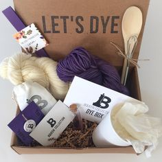 Dye Box - Monthly Subscription for Natural Yarn Dyeing