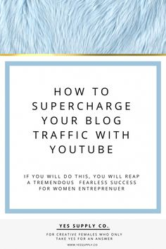 How to supercharge your video marketing? Read the secret of Entrepreneurs, female business owners, girlboss, bossbabe, creative,Get Youtube Marketing strategies to increase traffic, Tips, Ideas, Advertising strategies in business. Repin or save this for later.
