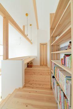 Diy Corner Shelf, Mobile Home Renovations, Loft Interior Design, Loft Interiors, Muji, Stairs, House Design, Flooring, Room