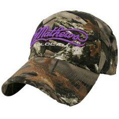 purple & camo mathews solocam hat