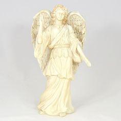 Archanděl Rafael - velká soška - eshop Bombastus Hula, Angeles, Statue, Boho, Art, Angels, Bohemian, Kunst, Sculpture