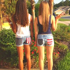 4th of July shorts:)