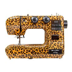 Eastman Tailor 22S Sewing Machine, Leopard Print at John Lewis