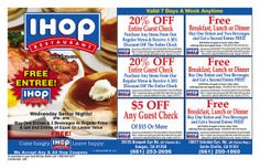 Ihop Coupons on Pinterest | Cup Of Coffee, Pancakes and ...