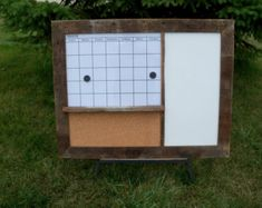 dry erase wall calendar with cork board - Google Search