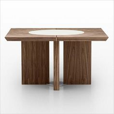 Destiny dining table with lazy susan.