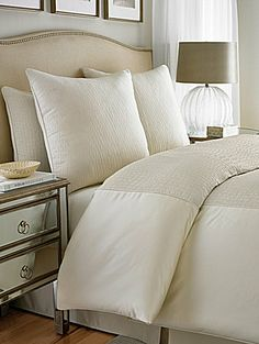 vince camuto home provence decorative pillow collection - bedding