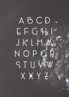 400ml Type Free Font by Marco Terre, via Behance