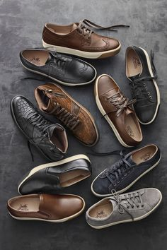 Game for Anything: Dress them up with a blazer or dress them down with denim, these versatile shoes have the wear-with-all.